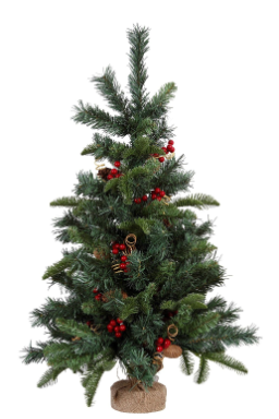 Pre-Decorated Christmas Trees